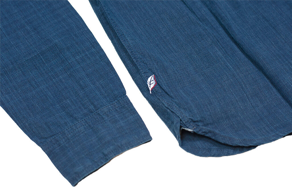Pure Blue Japan Workshirt - Double Natural Indigo - Image 20
