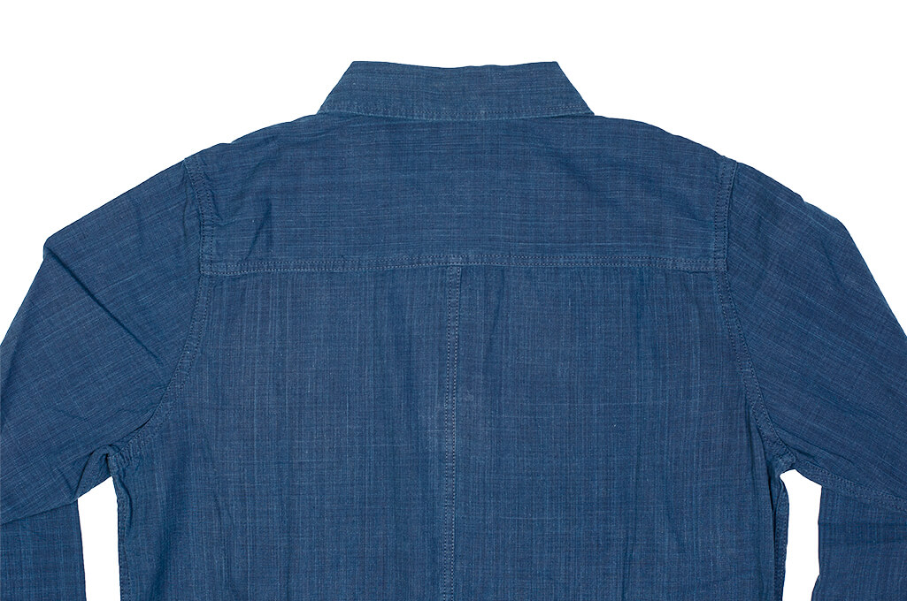 Pure Blue Japan Workshirt - Double Natural Indigo - Image 22