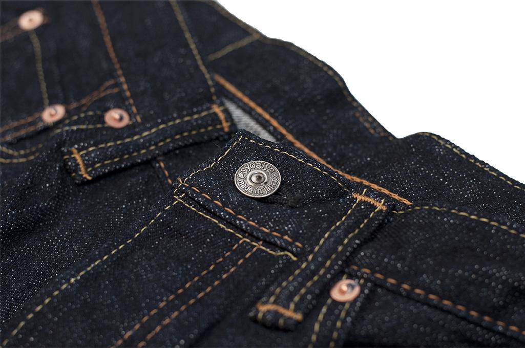 Pure Blue Japan XX-019 Indigo Jeans - 14oz Straight Tapered - Image 9
