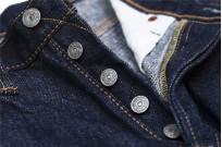 Pure Blue Japan XX-019 Indigo Jeans - 14oz Straight Tapered - Image 10