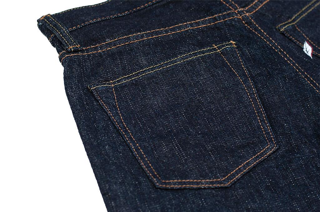 Pure Blue Japan XX-019 Indigo Jeans - 14oz Straight Tapered - Image 16