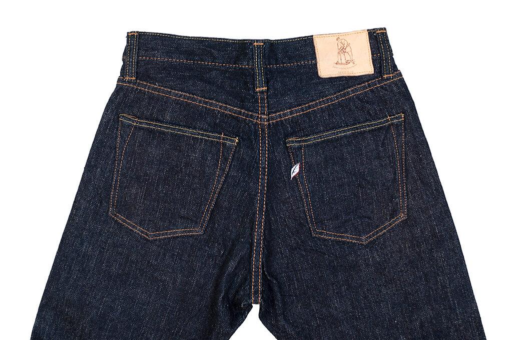 Pure Blue Japan XX-019 Indigo Jeans - 14oz Straight Tapered - Image 17
