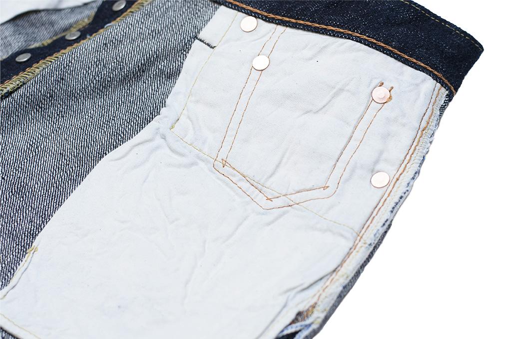 Pure Blue Japan XX-019 Indigo Jeans - 14oz Straight Tapered - Image 20