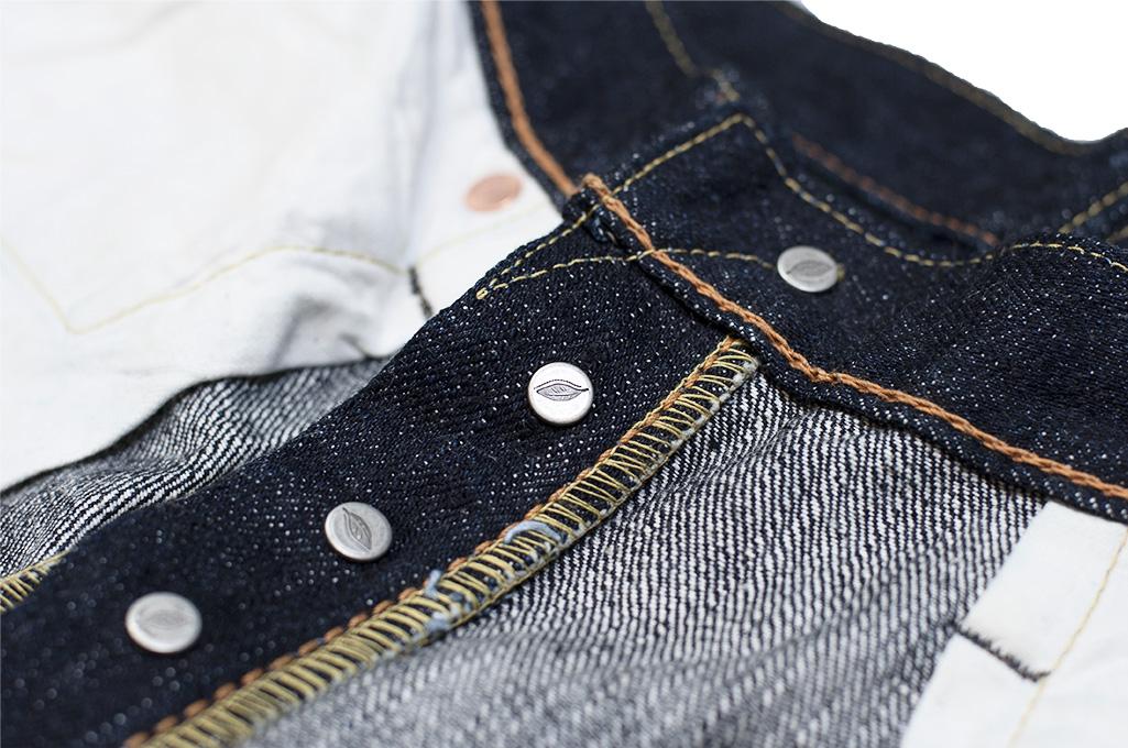 Pure Blue Japan XX-019 Indigo Jeans - 14oz Straight Tapered - Image 21