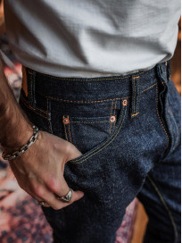 Pure Blue Japan XX-019 Indigo Jeans - 14oz Straight Tapered - Image 26