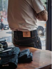 Pure Blue Japan XX-019 Indigo Jeans - 14oz Straight Tapered - Image 28