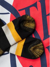 Stevenson Branded Solid Socks - Black - Image 6