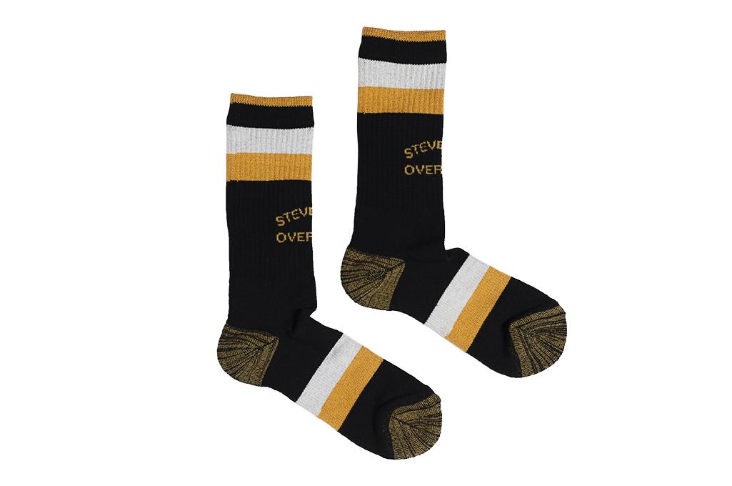 Stevenson_Branded_Solid_Socks_Black_2-10
