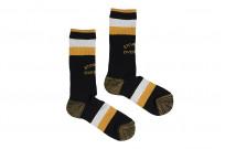 Stevenson Branded Solid Socks - Black - Image 1