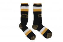 Stevenson Branded Solid Socks - Black - Image 3