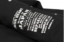 Iron Heart 13oz Military Serge Snap Shirt - Black - Image 17