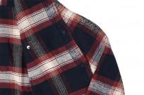 Pure Blue Japan Flannel Shirt - Indigo Shaggy Check - Image 11