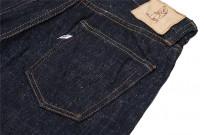 Pure Blue Japan SLB-013 16.5oz Slub Denim Jean - Slim Tapered - Image 15