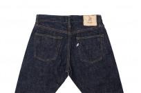 Pure Blue Japan SLB-013 16.5oz Slub Denim Jean - Slim Tapered - Image 16