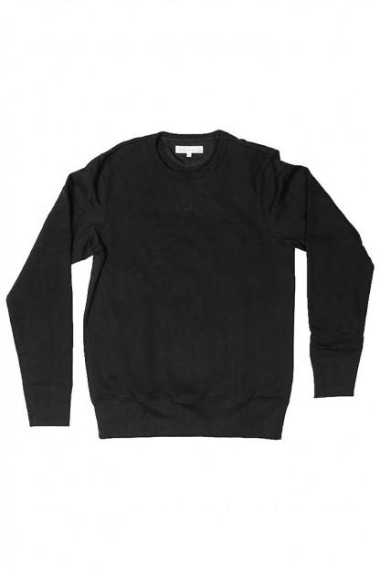 Merz B. Schwanen Heavy Weight Crewneck Sweater - Deep Black
