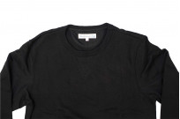 Merz B. Schwanen Heavy Weight Crewneck Sweater - Deep Black - Image 7