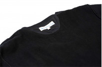 Merz B. Schwanen Heavy Weight Crewneck Sweater - Deep Black - Image 11