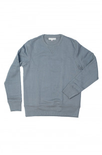 Merz B. Schwanen Heavy Weight Crewneck Sweater - Storm - Image 3