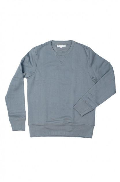 Merz B. Schwanen Heavy Weight Crewneck Sweater - Storm