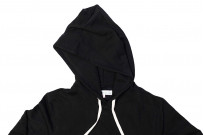 Merz B. Schwanen Heavy Weight Pullover Hoodie - Deep Black - Image 7
