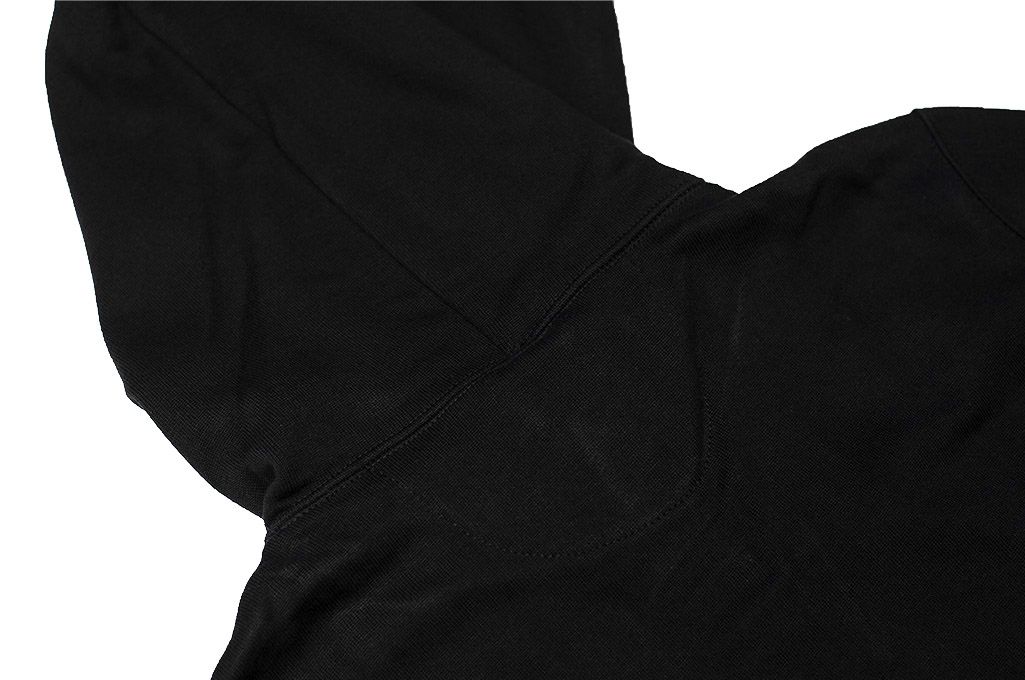 Merz B. Schwanen Heavy Weight Pullover Hoodie - Deep Black - Image 12
