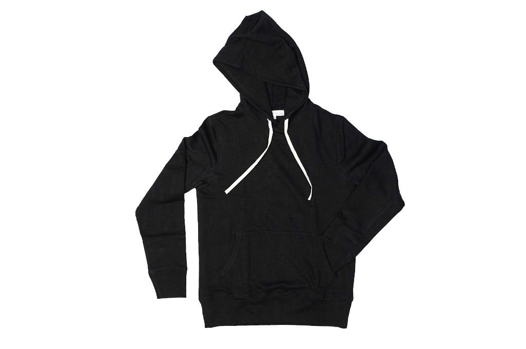 Merz B. Schwanen Heavy Weight Pullover Hoodie - Deep Black - Image 15