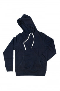 Merz B. Schwanen Heavy Weight Pullover Hoodie - Night Blue - Image 4