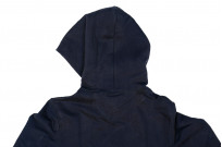 Merz B. Schwanen Heavy Weight Pullover Hoodie - Night Blue - Image 11