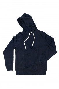 Merz B. Schwanen Heavy Weight Pullover Hoodie - Night Blue - Image 16