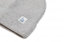 Merz B. Schwanen Merino Wool Beanie - Gray 2021 - Image 4