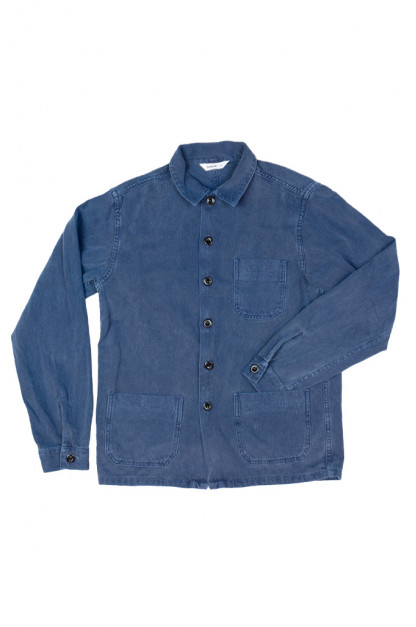 3sixteen Garment Dyed Shop Jacket - French Blue