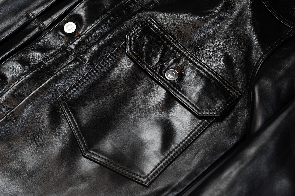 Fine Creek Horsehide Jacket - Richmond Type I - Image 2
