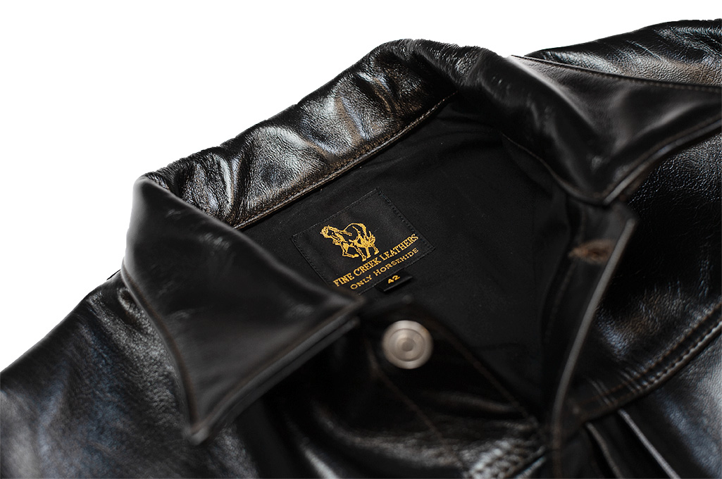Fine Creek Horsehide Jacket - Richmond Type I - Image 6