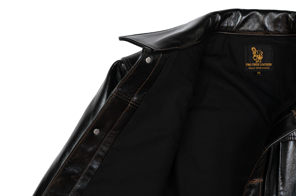 Fine Creek Horsehide Jacket - Richmond Type I - Image 10