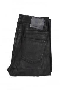 Rick Owens DRKSHDW Duke Jeans - Made in Japan Black Waxed (Self Edge Exclusive) - Image 4