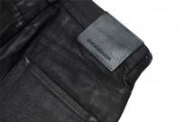 Rick Owens DRKSHDW Duke Jeans - Made in Japan Black Waxed (Self Edge Exclusive) - Image 15