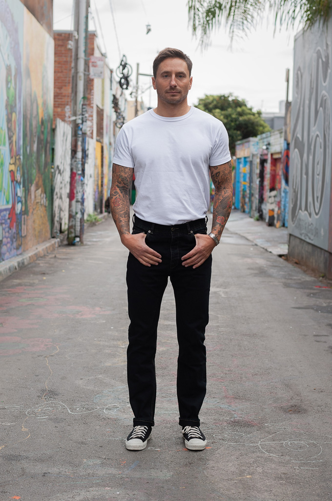 Rick Owens DRKSHDW Duke Jeans - Made in Japan Overdyed (Self Edge Exclusive) - Image 0