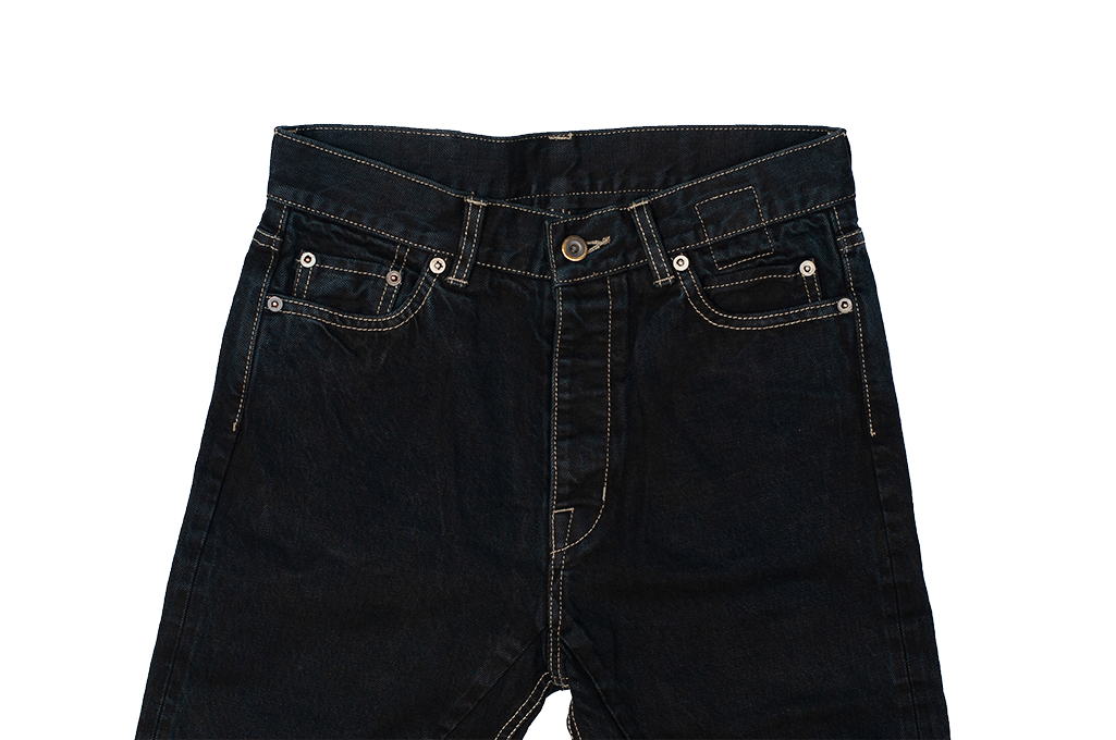 Rick Owens DRKSHDW Duke Jeans - Made in Japan Overdyed (Self Edge Exclusive) - Image 6