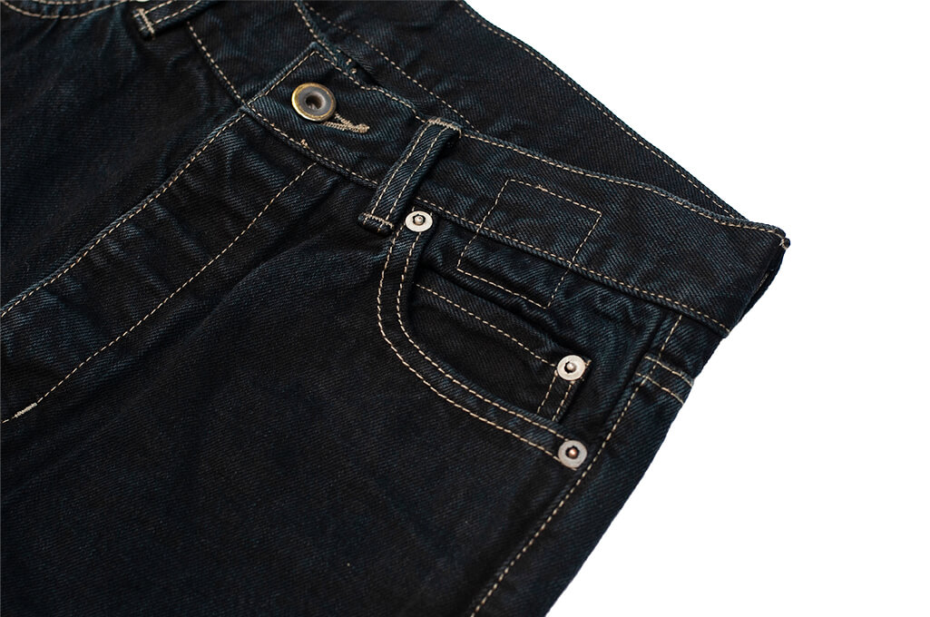 Rick Owens DRKSHDW Duke Jeans - Made in Japan Overdyed (Self Edge Exclusive) - Image 8