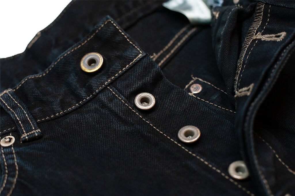 Rick Owens DRKSHDW Duke Jeans - Made in Japan Overdyed (Self Edge Exclusive) - Image 11