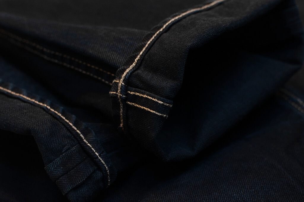Rick Owens DRKSHDW Duke Jeans - Made in Japan Overdyed (Self Edge Exclusive) - Image 12