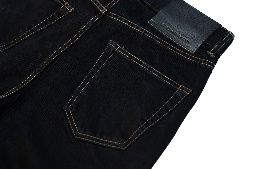 Rick Owens DRKSHDW Duke Jeans - Made in Japan Overdyed (Self Edge Exclusive) - Image 15