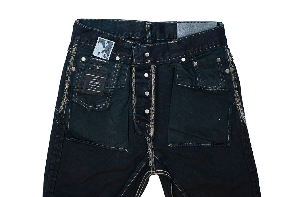 Rick Owens DRKSHDW Duke Jeans - Made in Japan Overdyed (Self Edge Exclusive) - Image 20