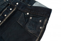 Rick Owens DRKSHDW Duke Jeans - Made in Japan Overdyed (Self Edge Exclusive) - Image 21