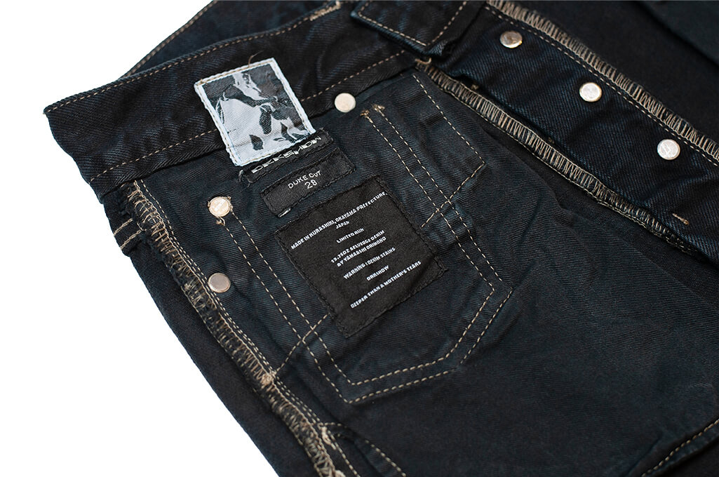 Rick Owens DRKSHDW Duke Jeans - Made in Japan Overdyed (Self Edge Exclusive) - Image 22
