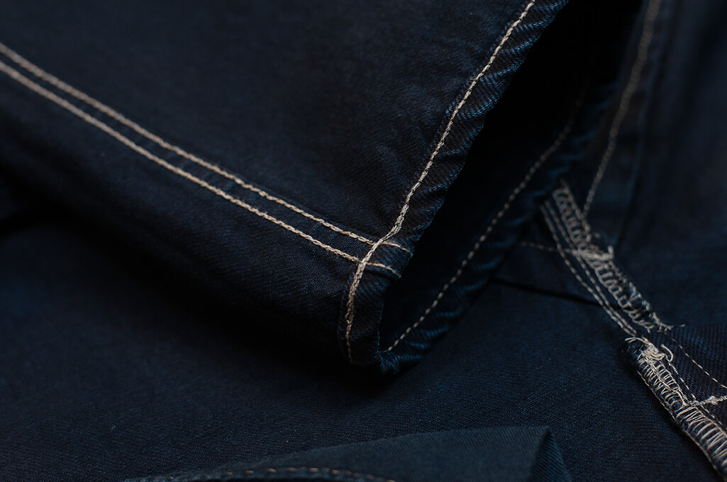 Rick Owens DRKSHDW Duke Jeans - Made in Japan Overdyed (Self Edge Exclusive) - Image 25