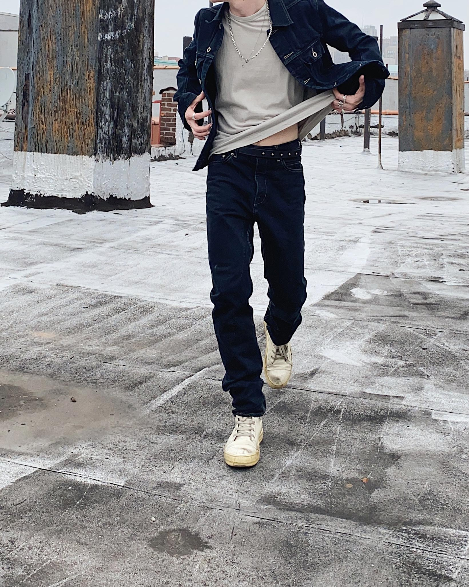 Rick Owens DRKSHDW Duke Jeans - Made in Japan Overdyed (Self Edge Exclusive) - Image 27