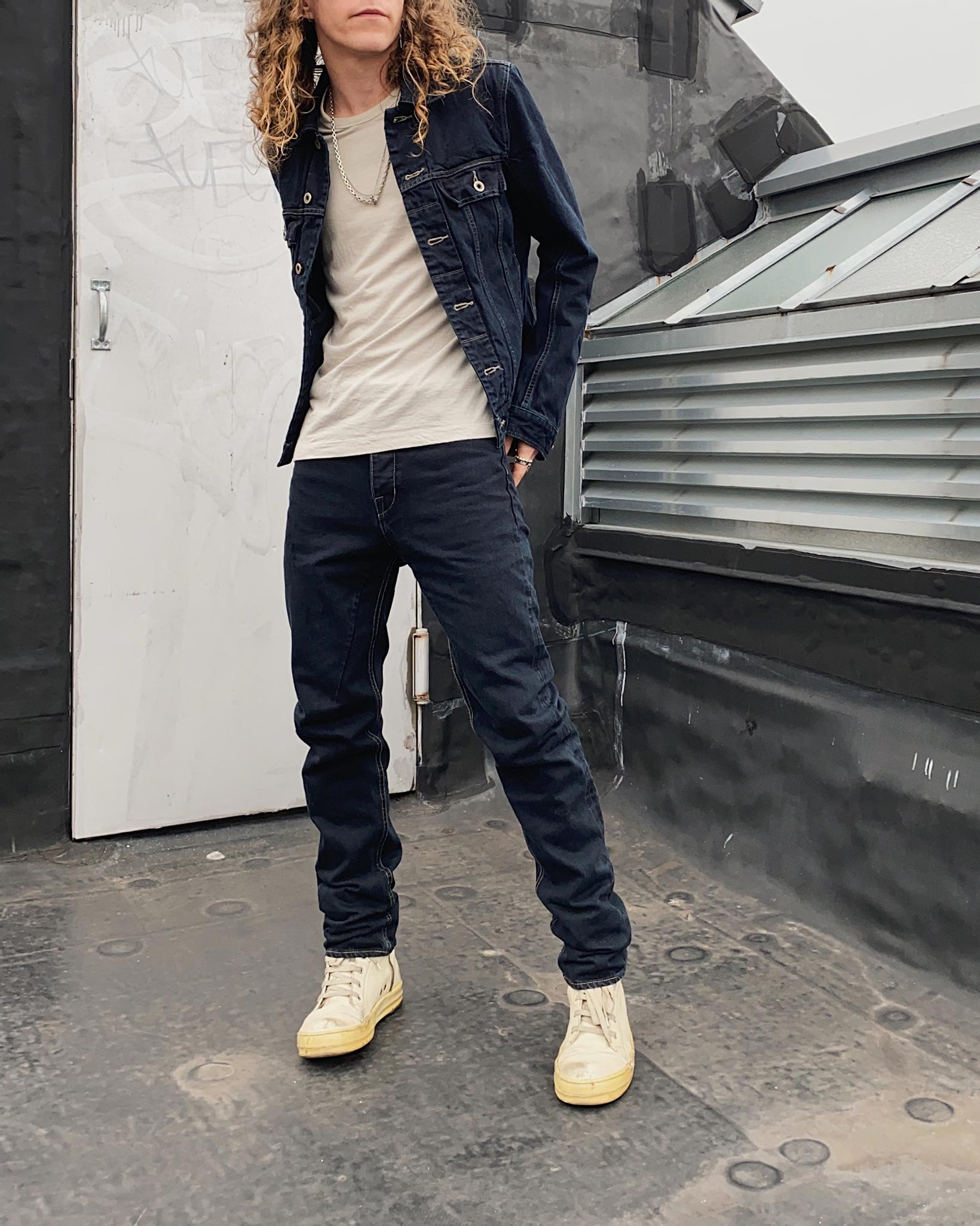 Rick Owens DRKSHDW Duke Jeans - Made in Japan Overdyed (Self Edge Exclusive) - Image 28