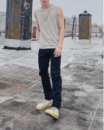 Rick Owens DRKSHDW Duke Jeans - Made in Japan Overdyed (Self Edge Exclusive) - Image 29