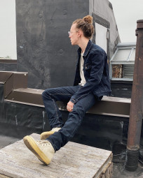 Rick Owens DRKSHDW Duke Jeans - Made in Japan Overdyed (Self Edge Exclusive) - Image 30